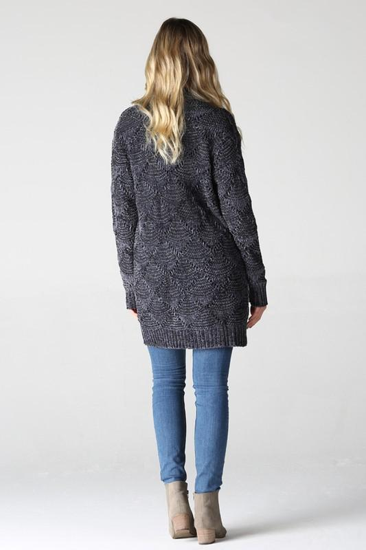 Wrapped In Love Chenille Cardigan