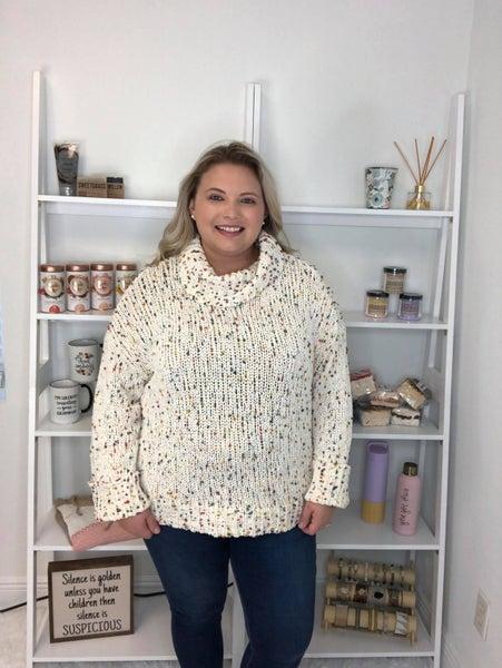Spotty Dotty Oats Pullover Sweater