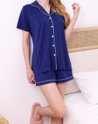 Navy Pajama Set