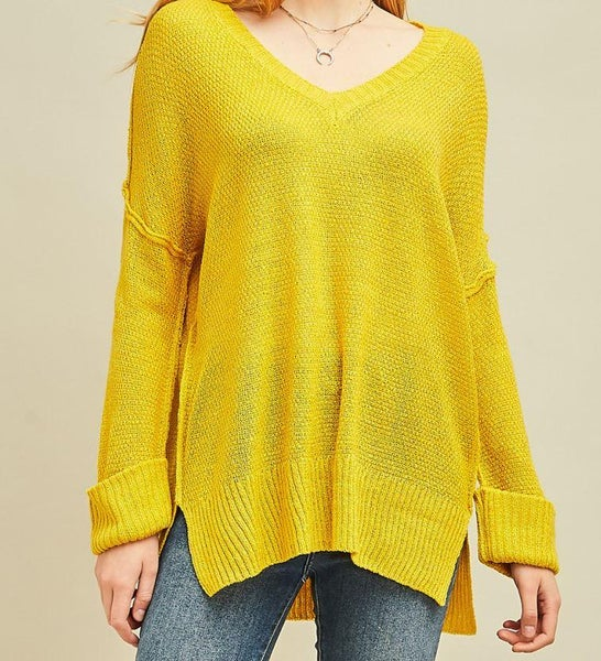 Stay Golden Knit Pullover