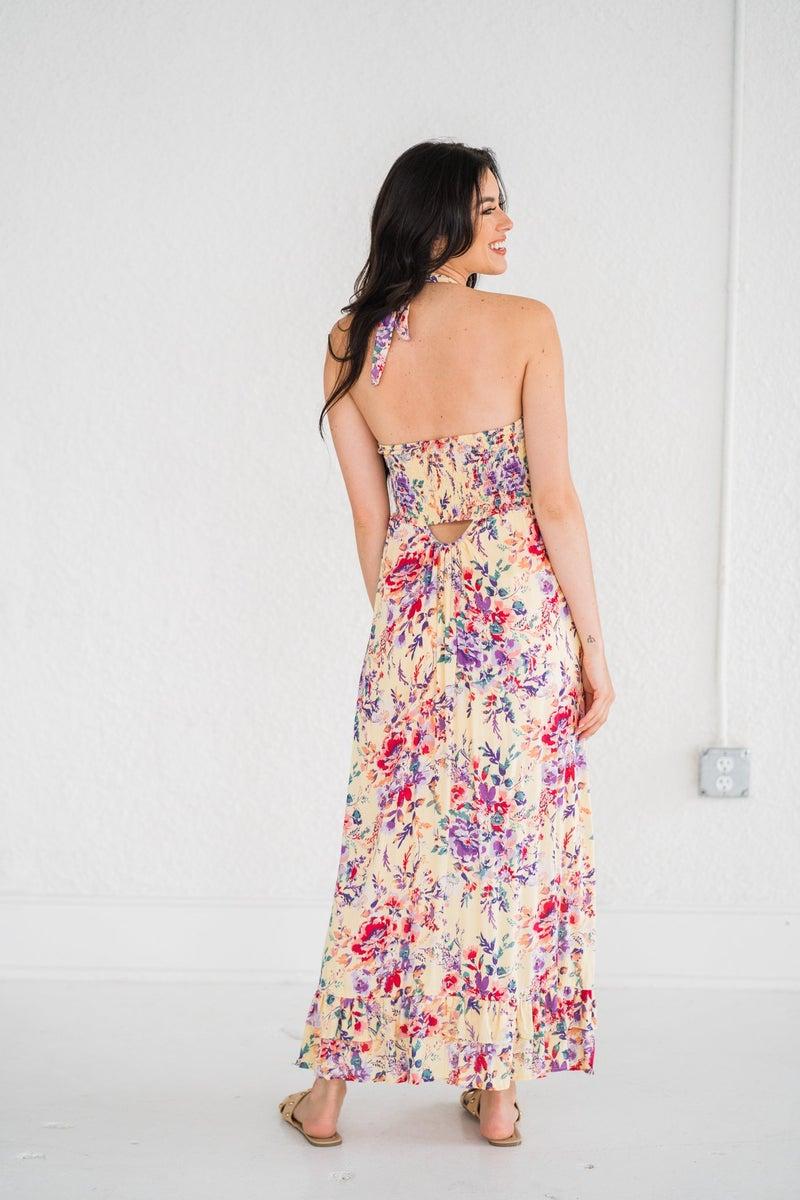 Sunshine Daze Halter Dress