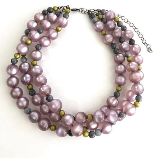 Lavender Moonglow Necklace