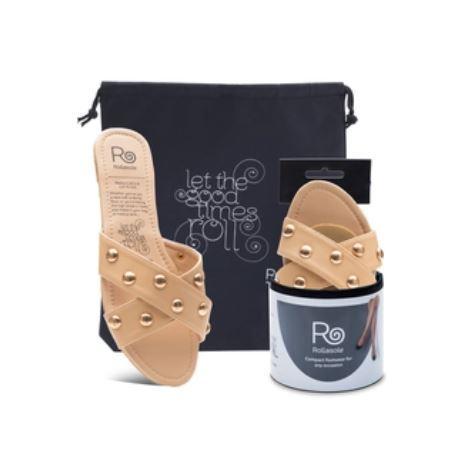 Criss Cross Slide on Sandals