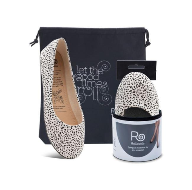 Dalmatian Slip On Shoes