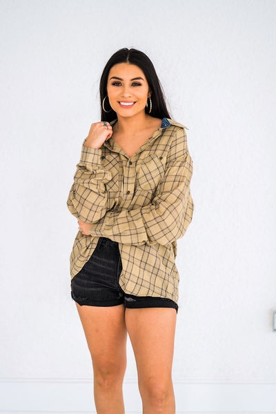 Country Girl Plaid Top