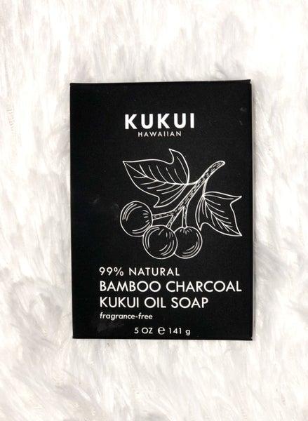 Charcoal KuKui Soap