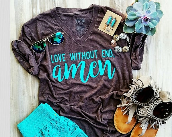 Love without End Amen Tshirt PREORDER
