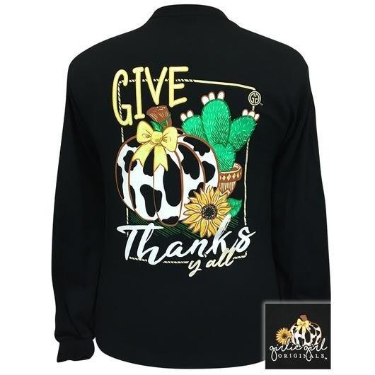 GIVE THANKS YALL SHIRT