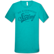 COURAGEOUS AND STRONG TSHIRT