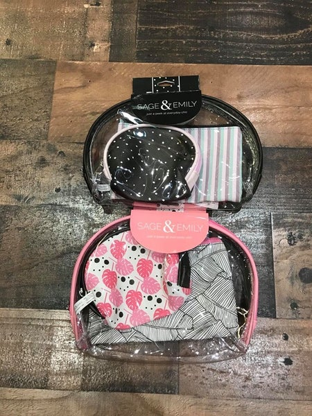 SAGE & EMILY MAKEUP BAG SET