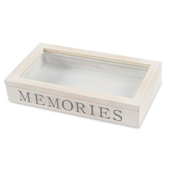MUDPIE MEMORIES WOODEN SHADOW-BOX