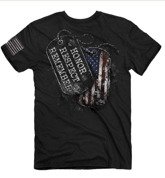 honor respect tshirt