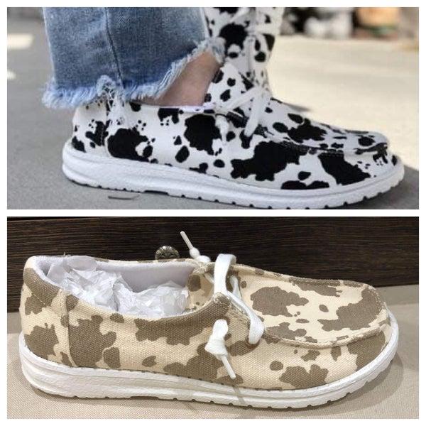 hey gal cow sneakers