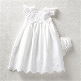 EYELET CHRISTMAS GOWN