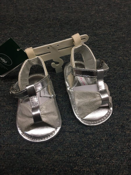 Laura Ashley Silver Sandal with Bow