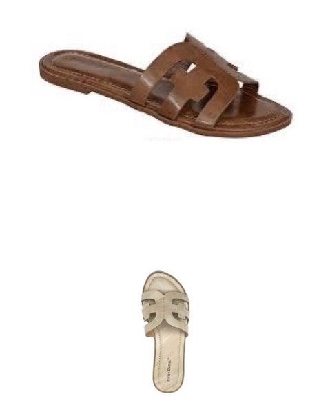 pierre dumas babbie sandal (2 colors)