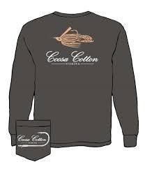 COOSA COTTON GREY LONG SLEEVE