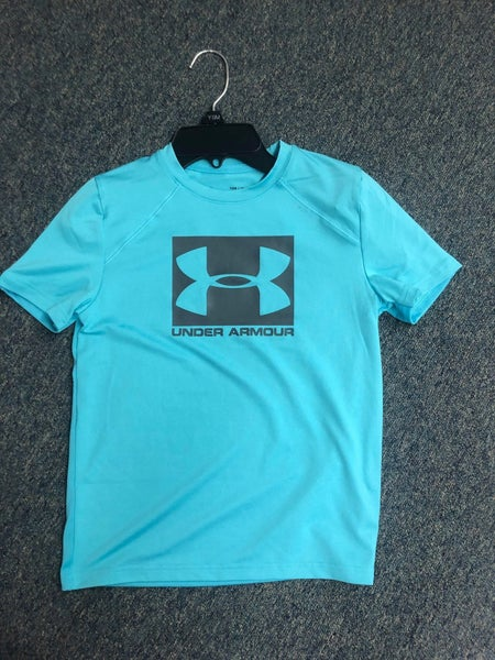 BOYS UNDER ARMOUR LOGO TSHIRT