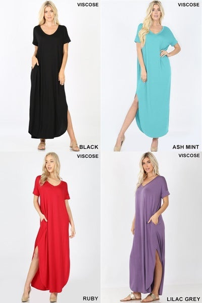 Maxi Dress (11 colors)