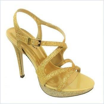 PIERRE DUMAS BELINDA-27 GOLD HEEL *Final Sale*