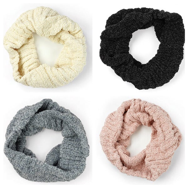 soft chenille scarf