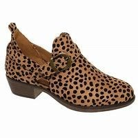 KIDS Pierre Dumas Cheetah Print Wedge