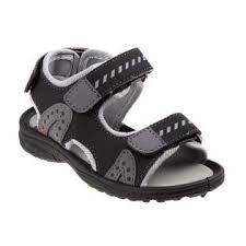 rugged bear black and grey boys shoe *Final Sale*
