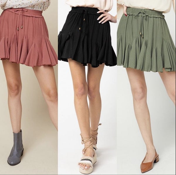 SKIRTS (3 COLORS)