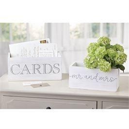 MUDPIE WEDDING CARD BOXES