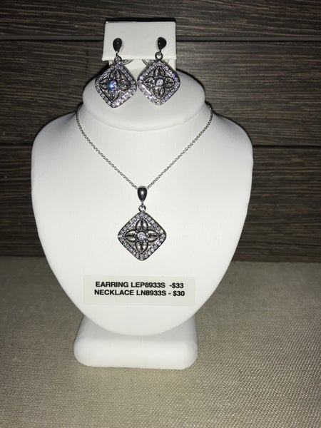CZIRE CZ NECKLACE OR EARRINGS (SOLD SEPARATLEY)