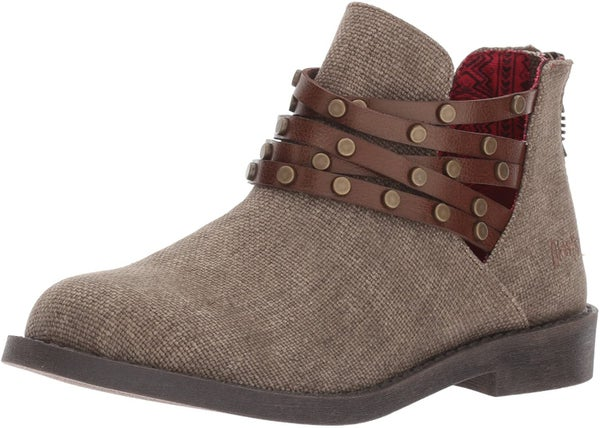 KIDS BLOWFISH CANVAS ANKLE BOOT