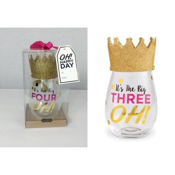 crown wine glasses