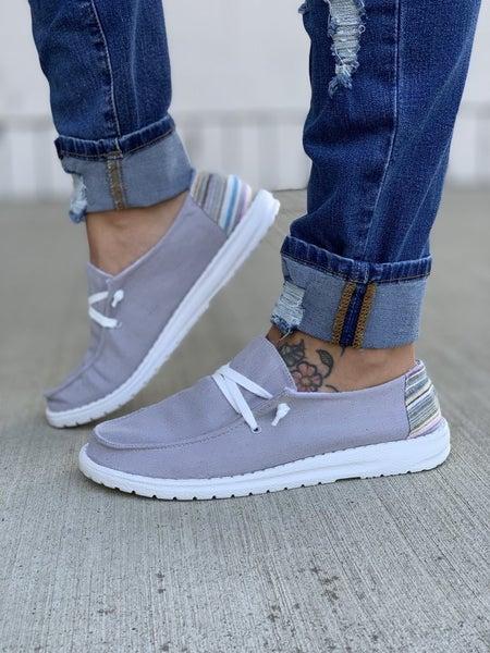 hey gal poppy grey sneakers