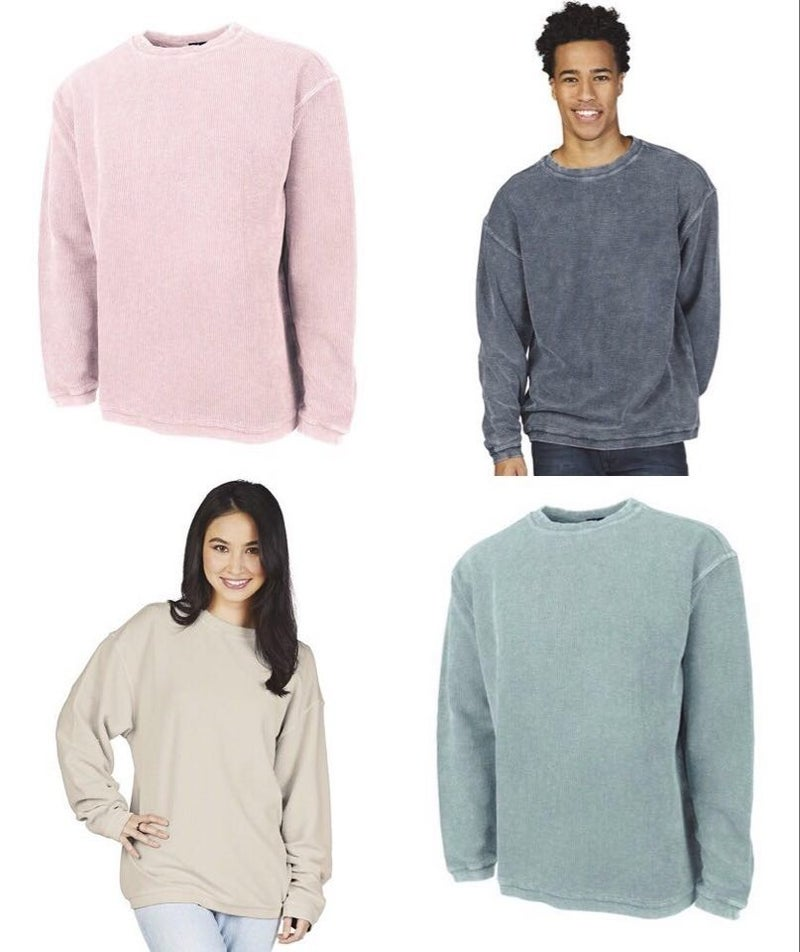 charles river uni-sex sweaters