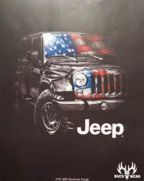 jeep american tough tshirt