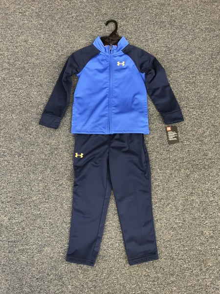 blue under armor jacket