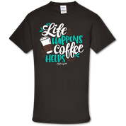 COFFEE HELPS TSHIRT