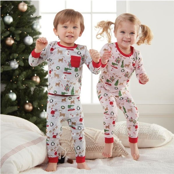 kids christmas pajamas