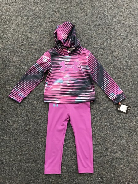 under armor multi colored pull over with pants