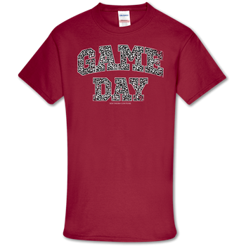 GAME DAY LEOPARD TSHIRT