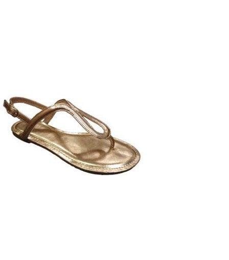 pierre dumas rose gold sandal