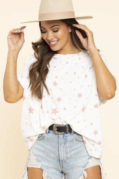 ALL OVER STAR TOP