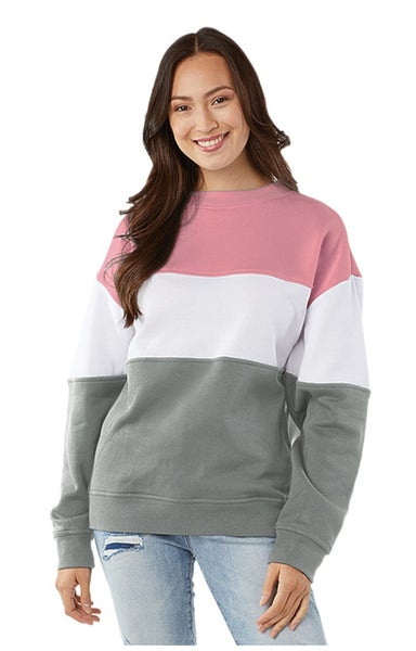 CHARLES RIVER COLOR BLOCK PULLOVER