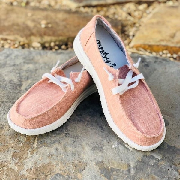 hey gal holly blush sneakers