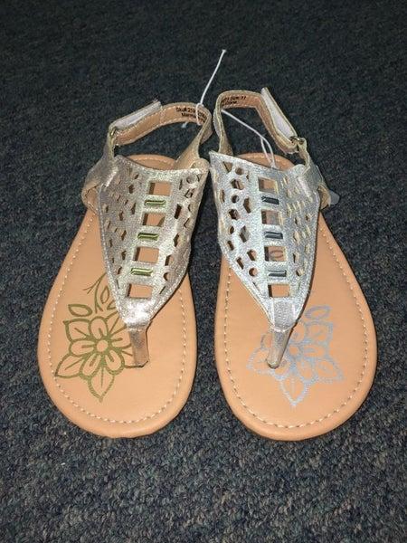 Petalia Glitter Toe Sandals
