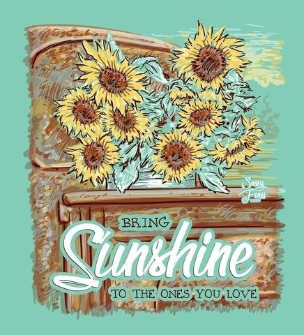SUNFLOWER TRUCK TSHIRT