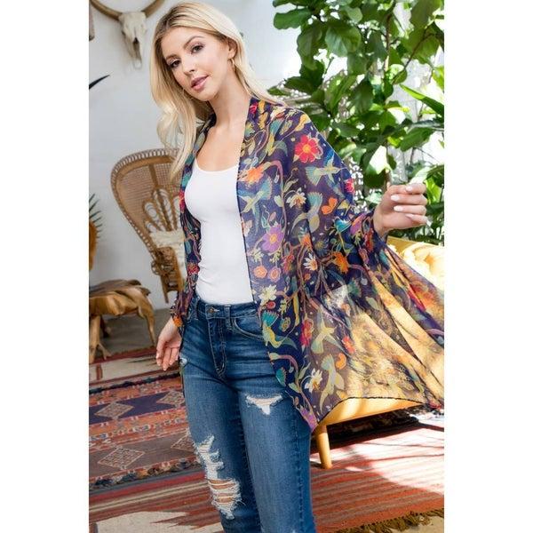 Botanical Babe Kimono