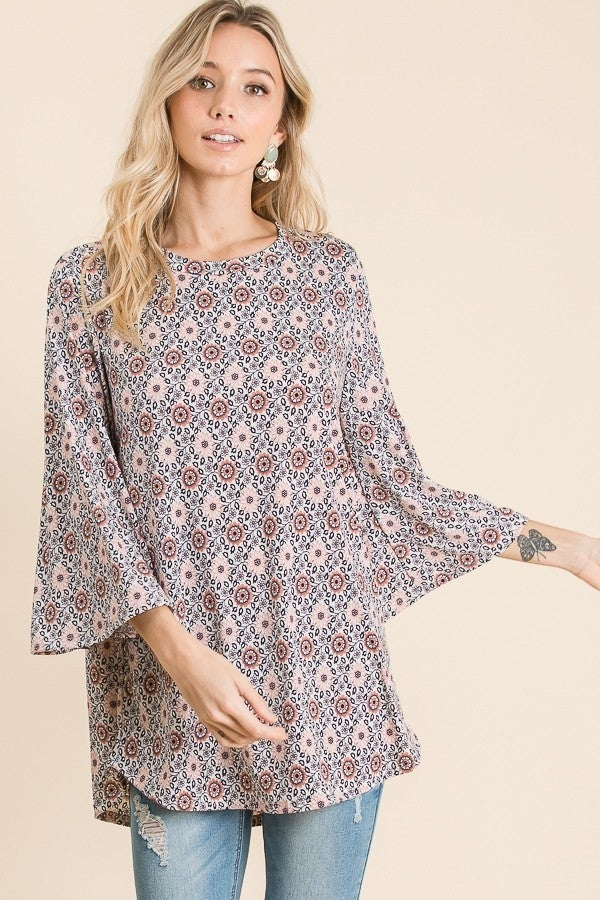 That 70's tunic Top