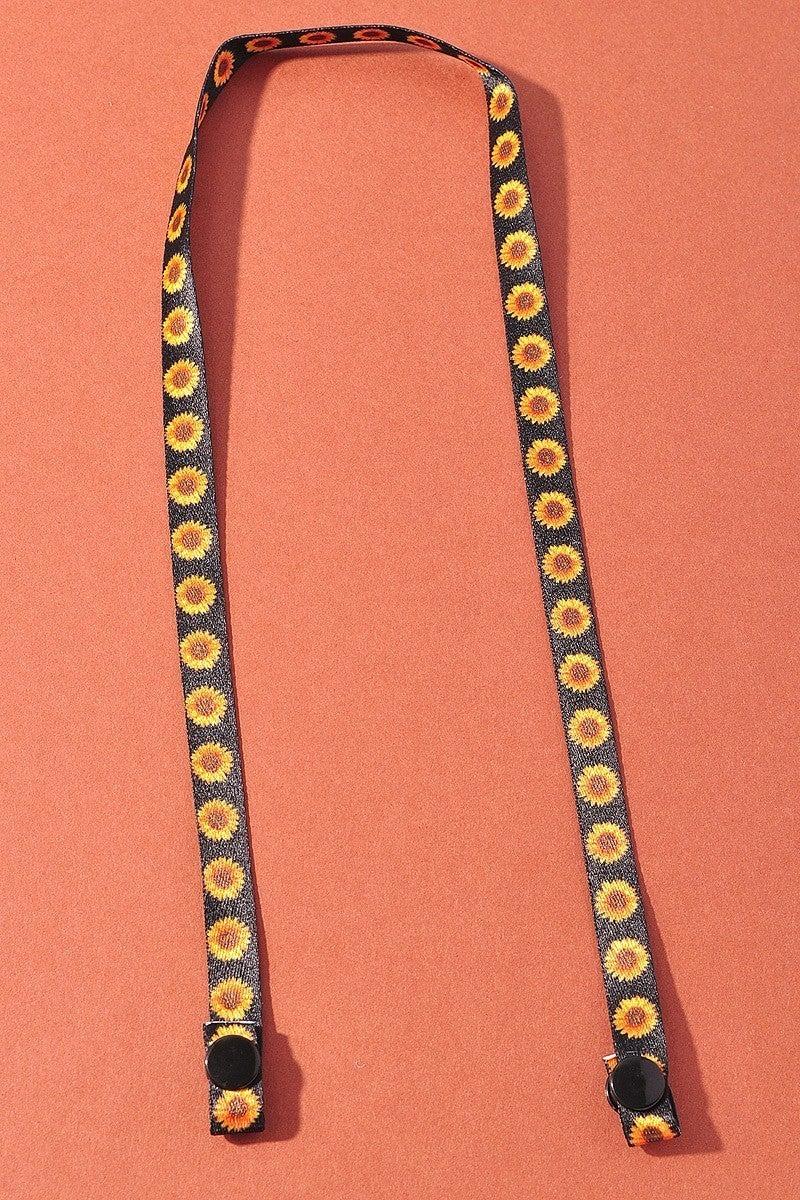 Flower Power Mask Chain