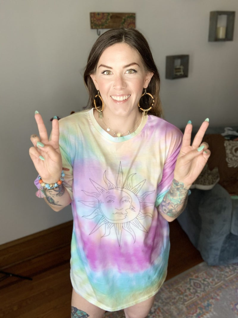 Moon Child Tie Dye Tee